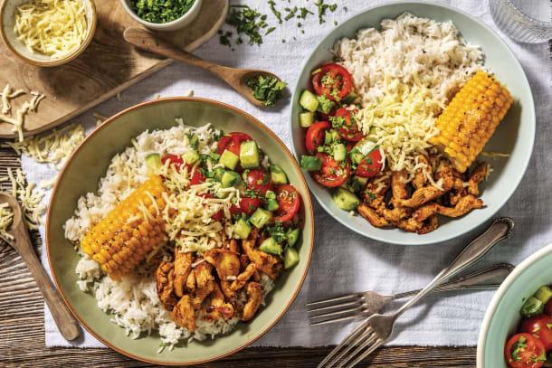 Mexican Chicken & Garlic Rice