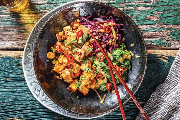 Low Calorie Meals - Tofu & Kumara Buddha Bowl