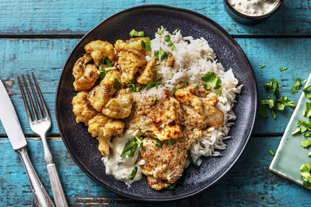 Poulet au curry à l'indienne