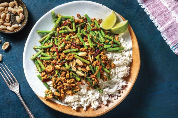 Thai Pork & Green Bean Stir-Fry
