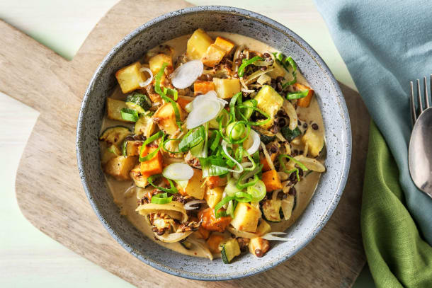 Vegetarisches Massaman-Curry