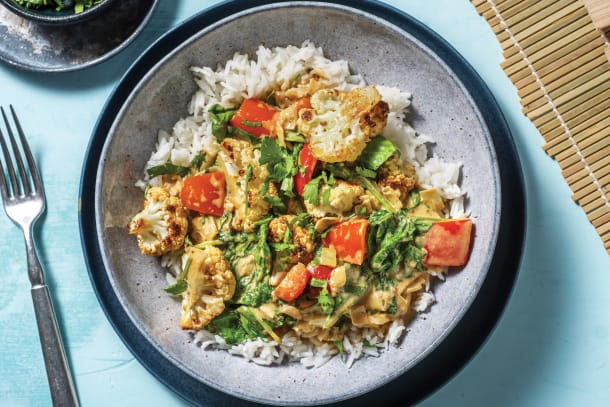 Roasted Cauliflower Bengal Curry