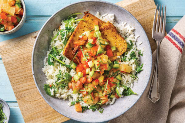 Caribbean Jerk Tofu