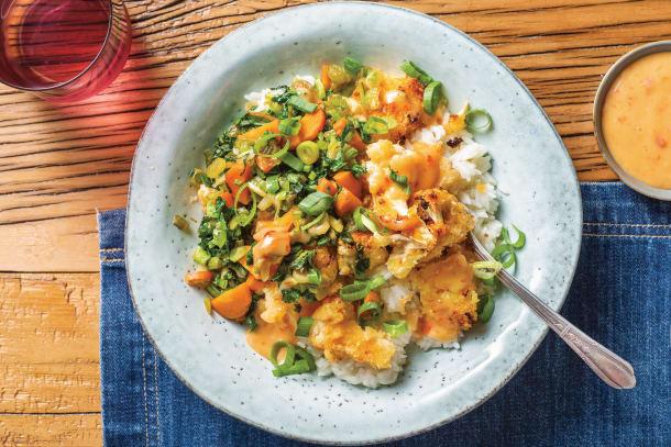 Vegetarian Recipes - Bang Bang Cauliflower