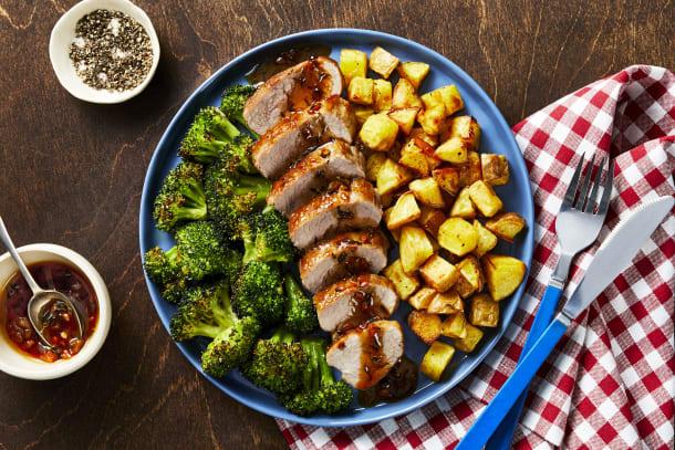 Quick meals - Honey-Thyme Pork Tenderloin