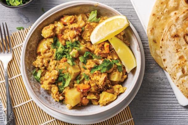 Cauliflower & Lentil Aloo Gobi