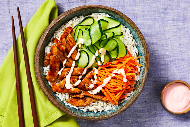 Quick meals - Chicken Bulgogi Bowls