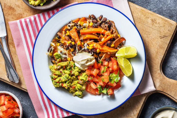 Vegetarische Mexicaanse kapsalon