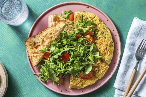 Omelette paysanne aux légumes et pommes de terre