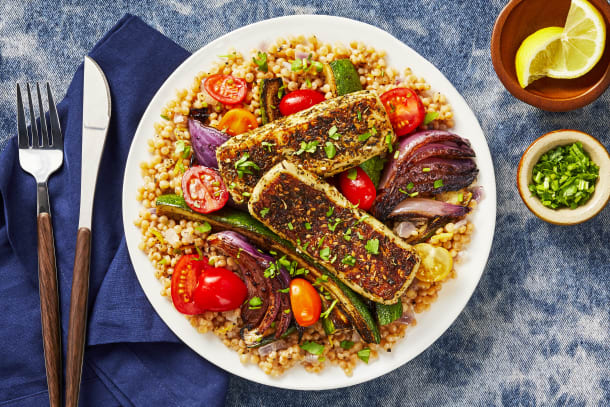 Quick meals - Za'atar-Crusted Grilling Cheese