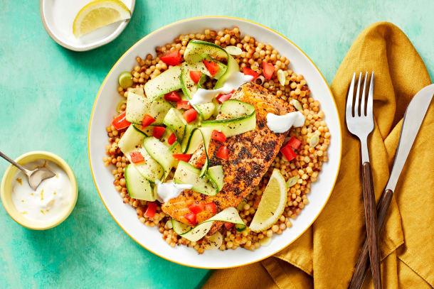 Quick meals - Salmon Limone