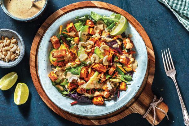 Warm Thai Kumara Salad