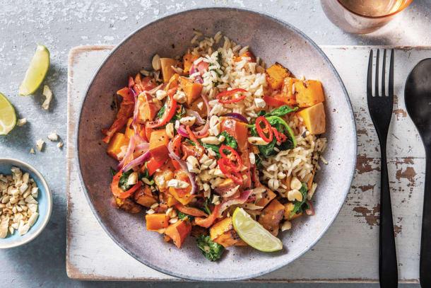 Quick Meals - Mild Sweet Potato & Coconut Curry
