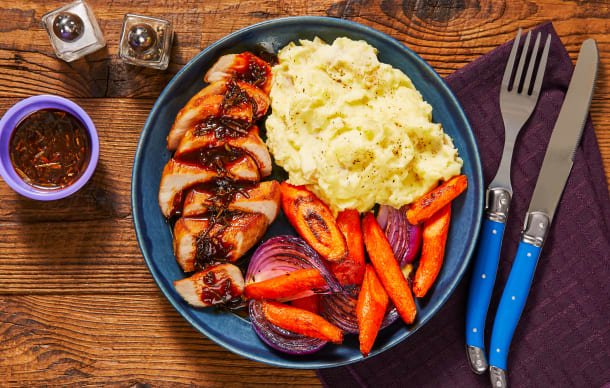 Hall Of Fame - Rosemary Demi-Glace Pork Chops