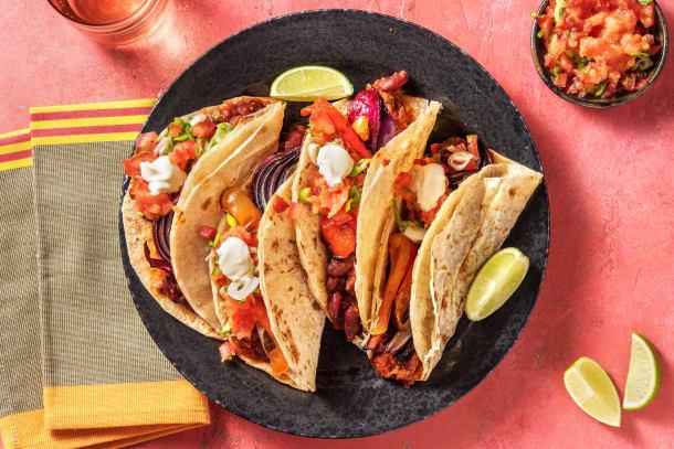 Thermomix Rezepte - Tacos mit vegetarischem Chili
