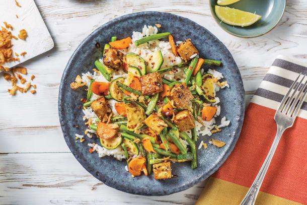 Vegetarian Recipes - Teriyaki-Glazed Tofu