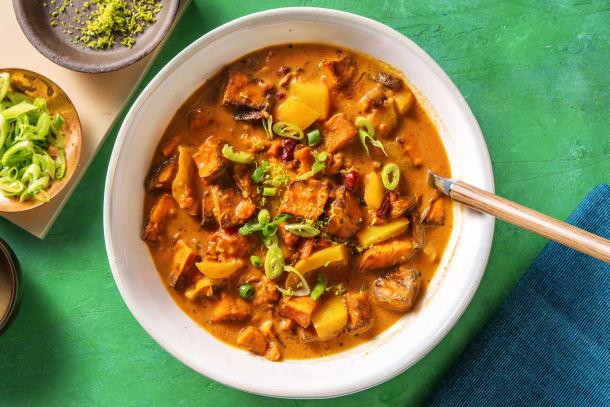 Zoete-aardappelsoep met limoen