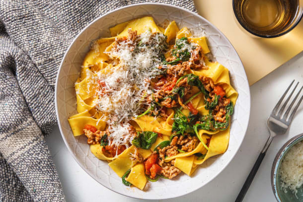 Quick Meals - Porky Pappardelle