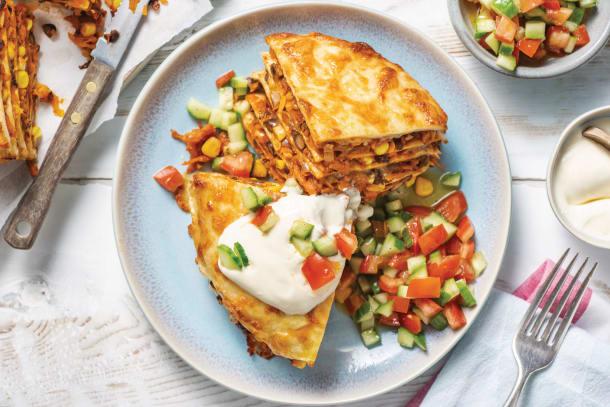 Alan's Mexican Tortilla Stack
