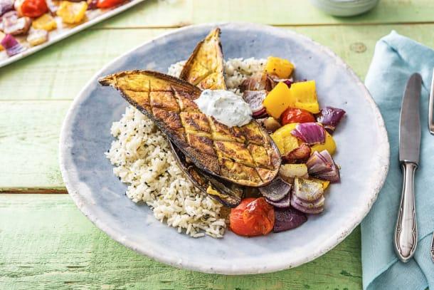 Tandoori Spiced Eggplant