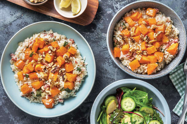 Bacon & Butternut Risotto