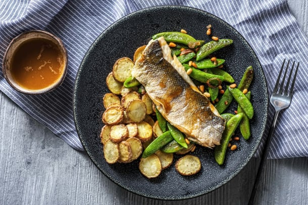 Barramundi and Brown Butter Lemon Sauce