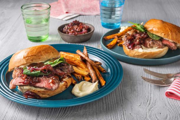 BBQ Steak Sandwich