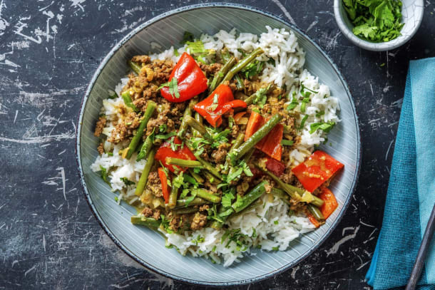 Beef and Lemongrass Curry
