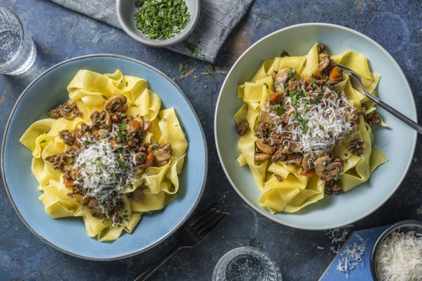 Quick Meals - Beef Ragu Pappardelle