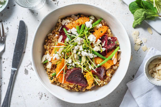 Beetroot, Green Bean & Orange Salad