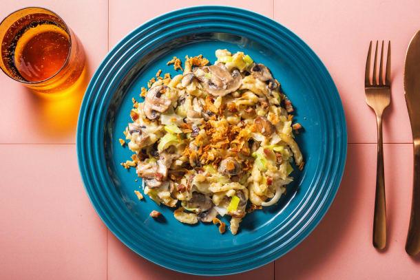 Schnelle Gerichte - Blitzschnelle Käsespätzlepfanne