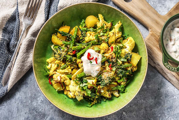 Food For Thought - Indian-Spiced Potato & Cauliflower