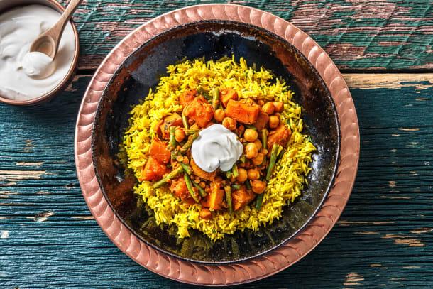 Vegetarian Recipes - Butternut Curry