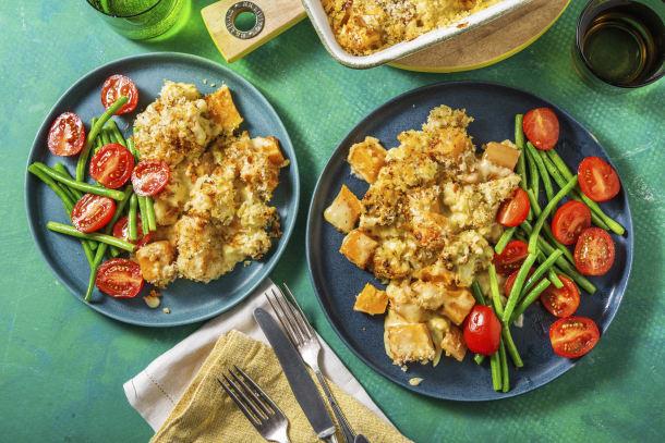 Butternut Squash & Cauliflower Gratin