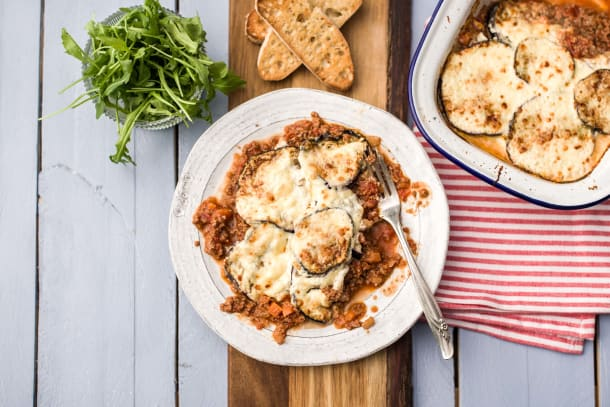 Cheat's Lamb Moussaka