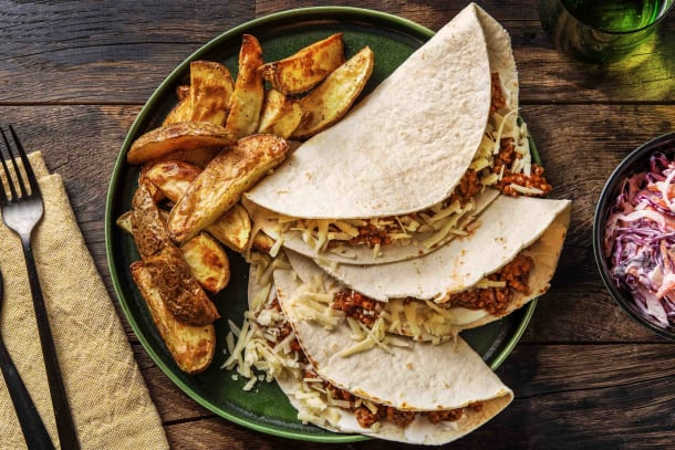 Quick Meals - Cheese Burger Tacos