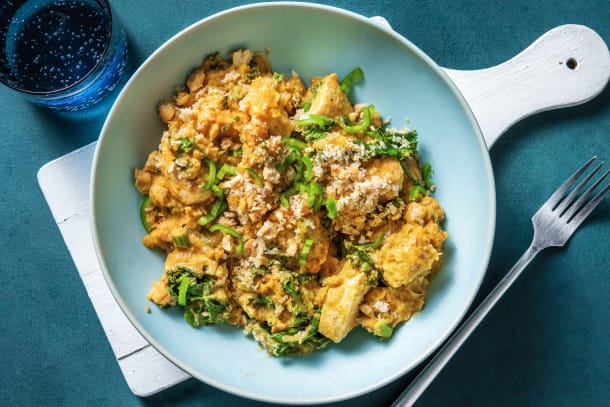 Quick Meals - Chicken and Chickpea Korma Crumble