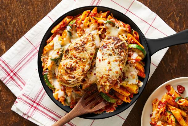 Chicken & Penne Pomodoro Skillet