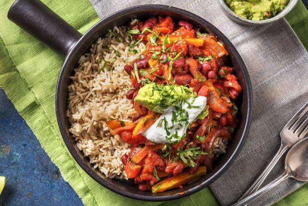Snelle gerechten - Chilli sin carne