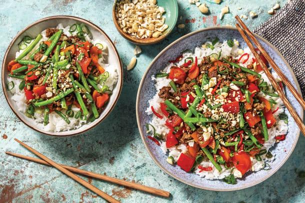 Chinese Beef & Green Bean Stir-Fry
