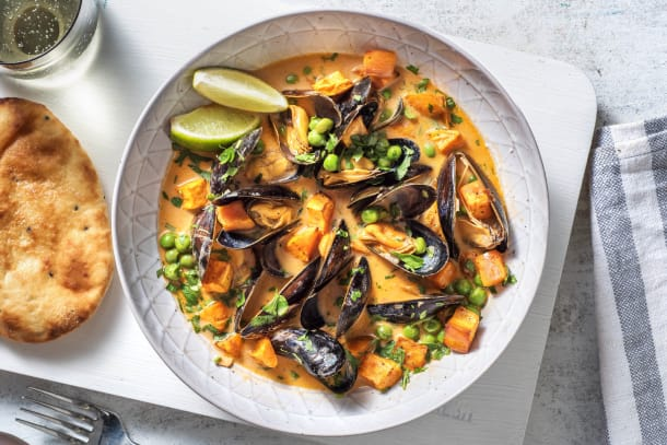 Quick Dinner Ideas - Coconut Curry Mussels