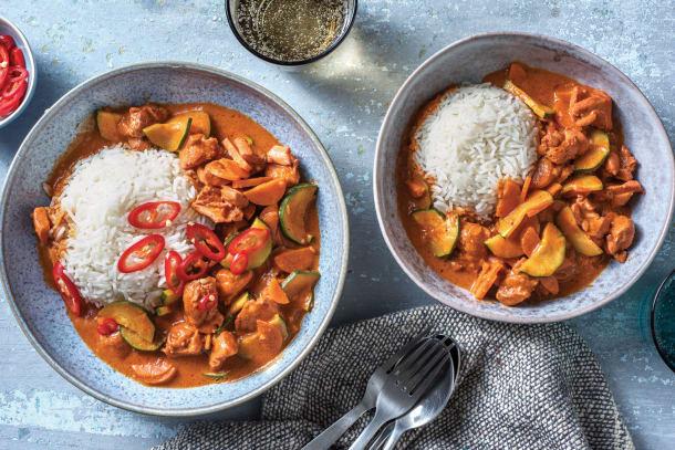 Tandoori-Style Chicken Curry