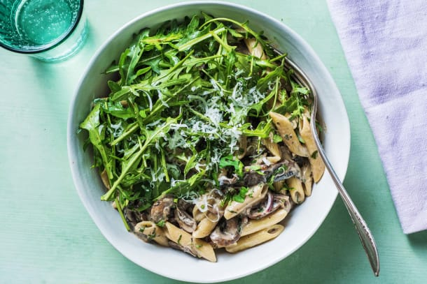 Quick Meals - Creamy Mushroom Pasta