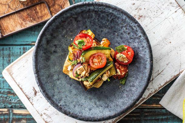 Vegetarian Recipes - Deconstructed Ratatouille