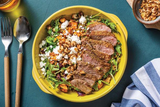 Low Calorie Meals - Dukkah-Crusted Lamb