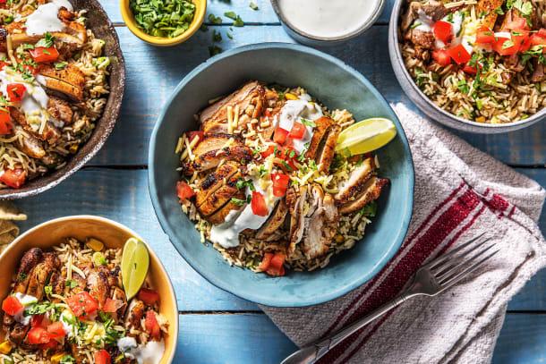 Fajita-Style Chicken Bowl