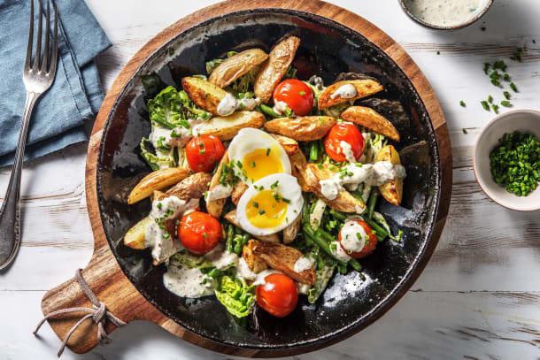 Feiner Kartoffelsalat nach Nicoise Art