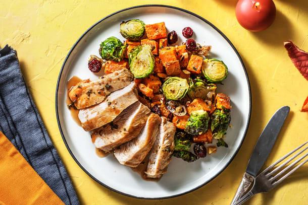 Festive Pan-Fried Turkey