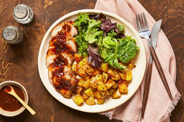Quick meals - Figgy Balsamic Pork