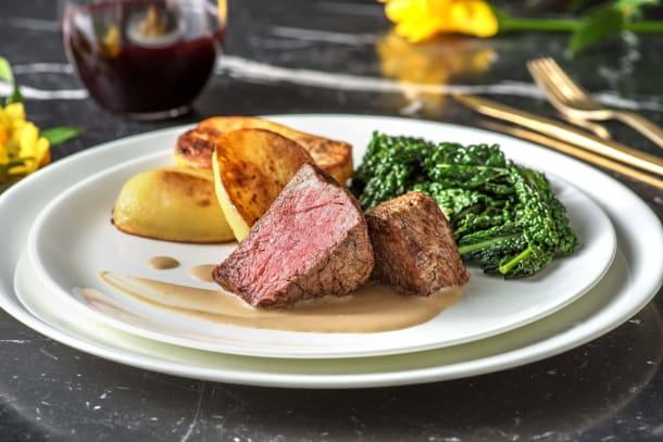 Low Calorie Meals - Pan Fried Fillet Steak